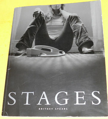 Stages – Britney Spears 2002 Huge Mexico City Tour Program Great Photographs See