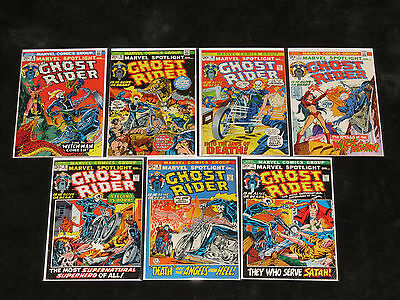 1972 Marvel Spotlight 5 6 7 8 9 10 11 Ghost Rider 1St Appearance Ploog & Thomas