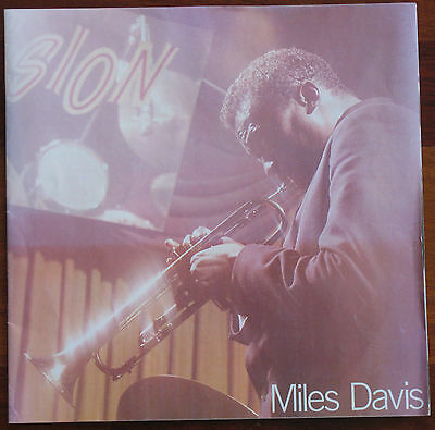 Booklet only from the Miles Davis Columbia Years album, great photos, very rare!
