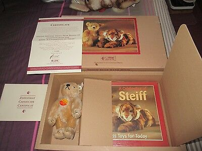 Special Edition Steiff book and TEDDY BEAR boxed