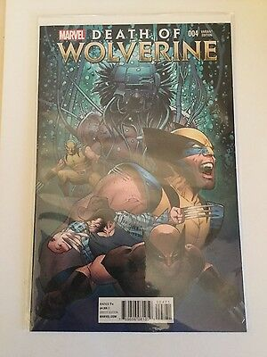 Death of Wolverine #4(of 4) - Mint - Variant Cover - Unread