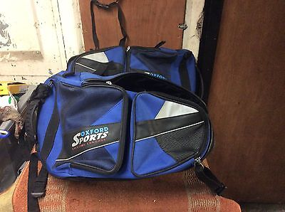 Oxford Sports Lifetime Luggage Expandable Panniers In Blue