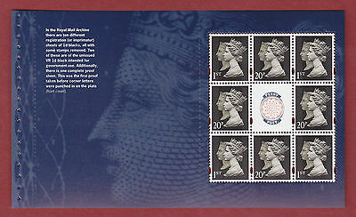 2009 DX46 sg 2955a Treasures of the Archive prestige booklet pane 1, (DP403)
