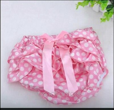 Baby Girl Satin  Nappy Cover * Pink & White * 4-6 Months * Uk Stock * New