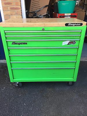 Snap On Tool Box 40'' In Bright Green