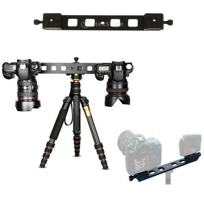 Professional Heavy Duty Tripod&Pan Head +Dual QR Plate for DSLR Camera