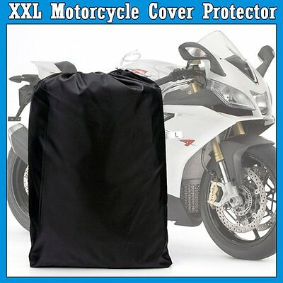 Motorcycle Cover Cruisers Tour Bike Protector For Dust Rain Waterproof ZM3BS XXL