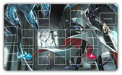 F1697# Free Mat Bag Kaiba Seto Muto Yugi Yugioh Monsters Duel TCG Playmat Layout