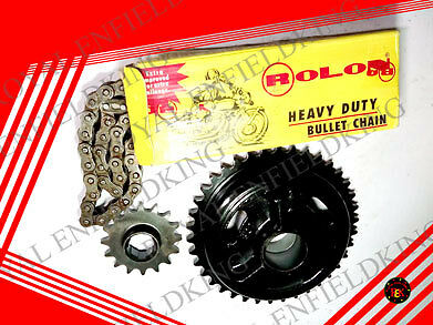 Brand New Royal Enfield 4 Speed Chain Sprocket Kit  BEST QUALITY