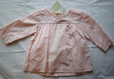Ouch Girls Long Sleeve Top Pink - Size 00 NEW