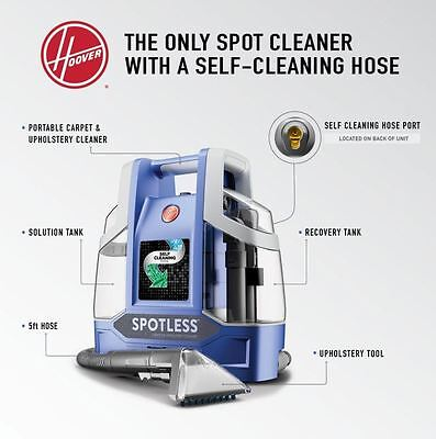*NEW* Carpet Cleaner Machine Rug Upholstery Portable Cleaning Floor Care Hoover