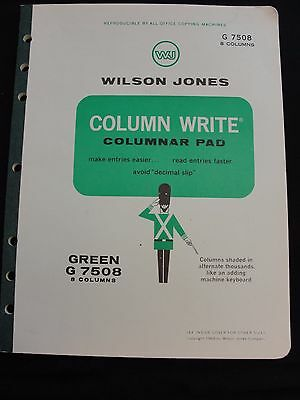 Wilson Jones G7508 Column/write Columnar Pad