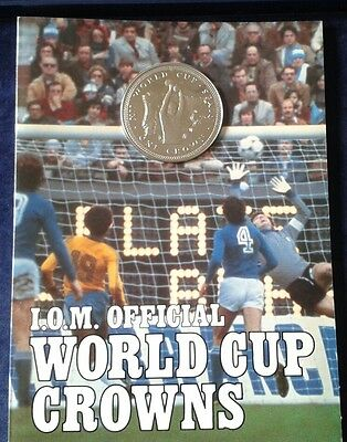 ISLE OF MAN 1982 Official World Cup Proof Crown (1)