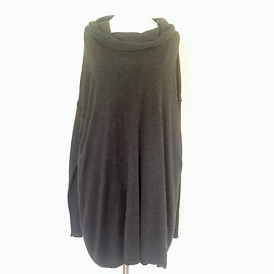 Motherhood Maternity Extra Large Pullover Sweater Gray Cowl Neck Tunic Top T607