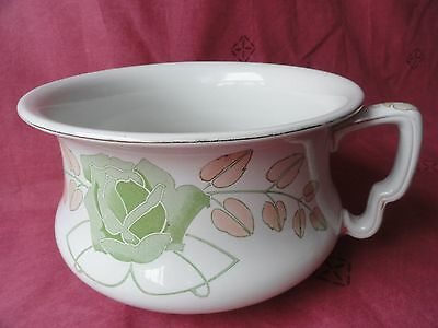 "Porcelain Chamber Pot ""Late Mayers"""