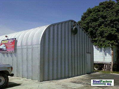 Steel P20x40x16 Metal Camper RV Storage Building Garage