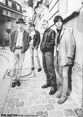 """The Smiths in France Photo Poster UK Import 23.5"""" x 33"""" Free US Shipping"""