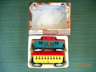 T &s Trains Collectable Train Cars
