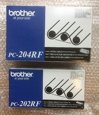 Brother PC-204RF 4 Pack & Brother PC-204rf 2Pack