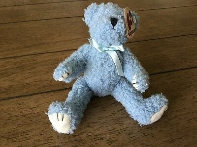 TY Attaic Treasures Collection - Blueberry - complete with tags Jointed Bear