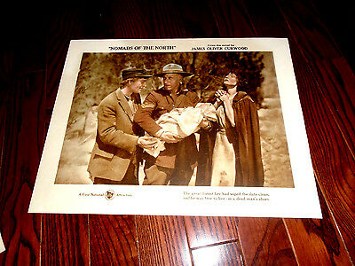 Nomads Of The North, Lon Chaney, Stone, Mounties, Original Lobby #3 1920