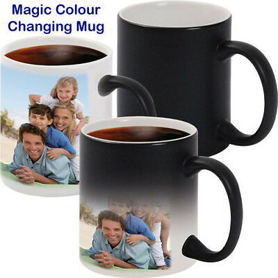 Personalised Heat Colour Changing Magic Mug - Great Birthday Gift - Photo Mug 2