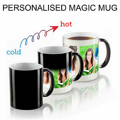 Personalised Heat Colour Changing Magic Mug - Great Gift - Photo Mug 5