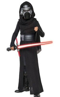 NEW NWT Star Wars Kylo Ren 4-6 Kids Boys Halloween Costume Dress Up Lightsaber