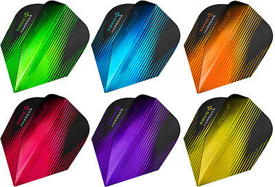 Harrows SONIC 100 Micron Metallic Dart Flights - Choose colour & number of sets!