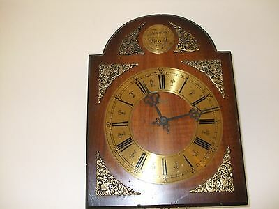 Vintage Weight Driven German Chiming Wall Clock