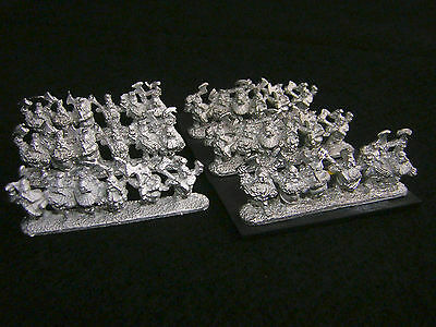 10mm Warmaster Dwarf Troll Slayers (b)