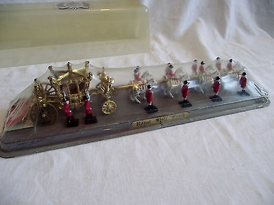 1977 Crescent Toys Queen Elizabeth II Silver Jubilee Royal State Coach