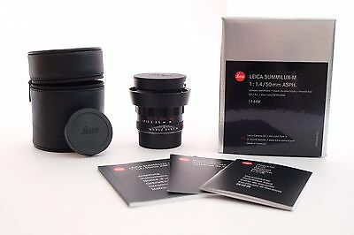 Leica Summilux-M 1.4/50 mm ASPH, black-chrome limited edition, 11688