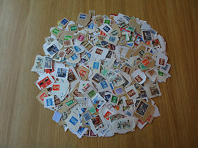 Stamps Great Britain   500 Mixture / Collection   On Paper Pk 2  Gb