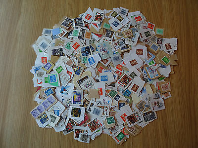 Stamps Great Britain   600 Mixture / Collection   On Paper   Gb