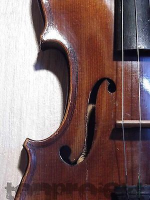 interesting old STRADIVARIUS labeled 4/4 VIOLIN fiddle 小提琴 Geige バイオリン violon