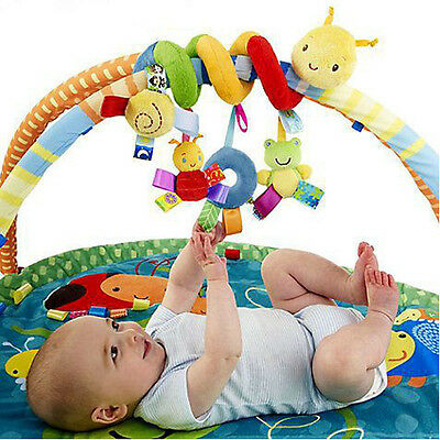 Infant Toys Baby Crib The Bed Stroller Revolves Around Rattles Mobile 1 PC