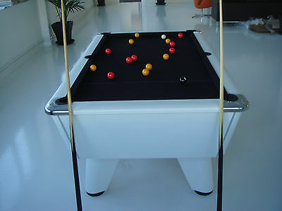 7ft White Supreme Winner Pool Table - Freeplay, UK FREE DELIVERY install option