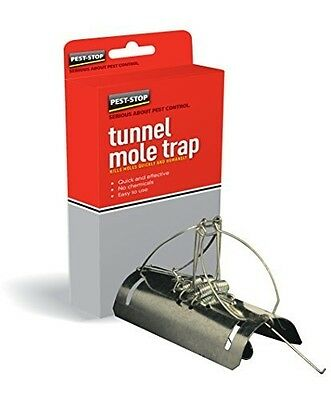 Pest-stop Tunnel-type Mole Trap (12 Pack)