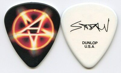 ANTHRAX 2011 Worship Music Tour Guitar Pick!!! SCOTT IAN custom concert stage #4