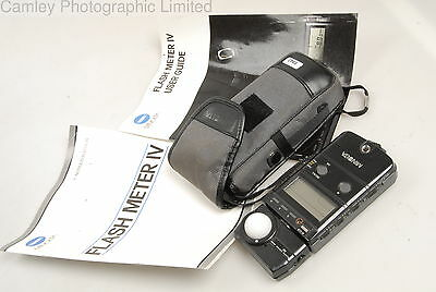 Minolta Flash Meter IV Light Meter. Condition – 6E [5943]