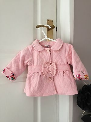Baby Girls Designer Ted Baker Summer Jacket 3-6 Months