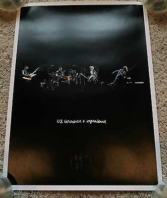 U2 Fan Club 2016 Tour Innocence & Experience Lithograph Poster Live on Stage