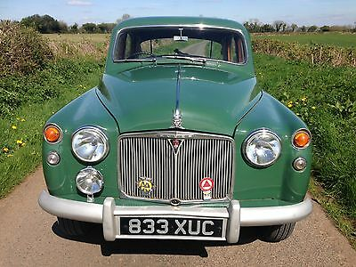 Rover P4 75 1958 Green 2230cc Leather Seats Everyday Classic MOT & TAX Exempt
