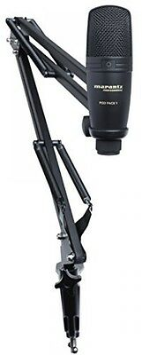 Marantz Professional PodPack 1 USB Microphone With Broadcast Stand And Cable
