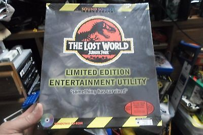The Lost World Jurassic Park LE Entertainment Utility SEALED RARE! CD-ROM