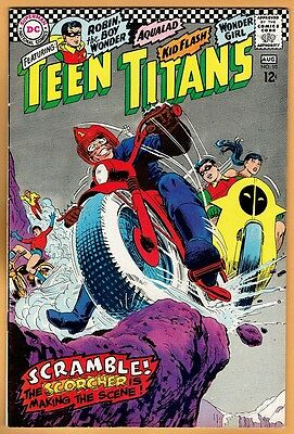 TEEN TITANS #10 DC Comics 1967 VF-  Robin Kid Flash Wonder Girl Aqualad
