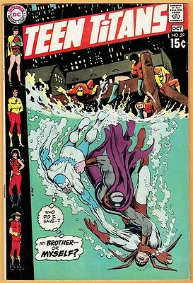 TEEN TITANS #29 DC Comics 1970 VF-  Robin Kid Flash Wonder Girl Speedy