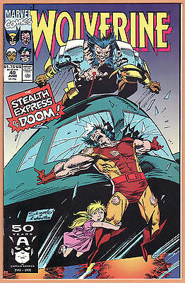 WOLVERINE #40 41 42 43 44 45 46 47 48 49 10 issues NEAR MINT/MINT 9.8 SABRETOOTH