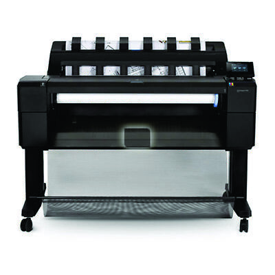 New HP DesignJet T930 36-in PostScript Printer Office Supplies